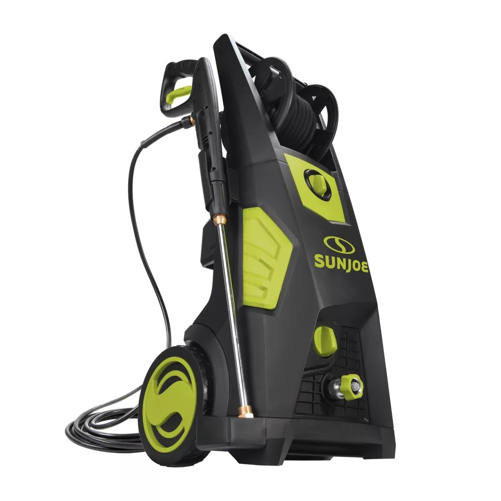 Sun Joe Pressure Washer W Hose Reel The Home Depot Canada