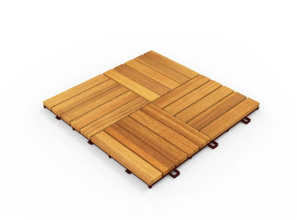 acacia camp20 12 ich x 12 inch deck tiles in golden teak 10 tiles per case 10 sq ft per case