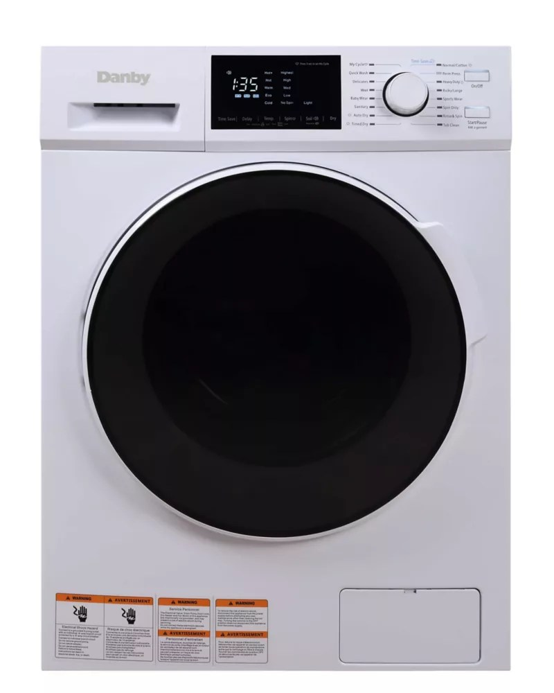 Danby 2 7 Cu Ft All In One Ventless Washer Dryer Combo The Home Depot Canada