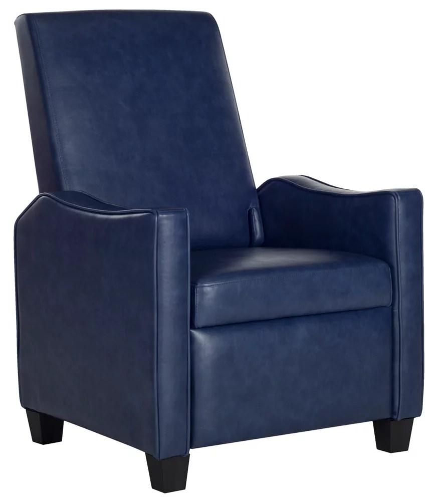 fauteuil inclinable holden en bleu marine noir