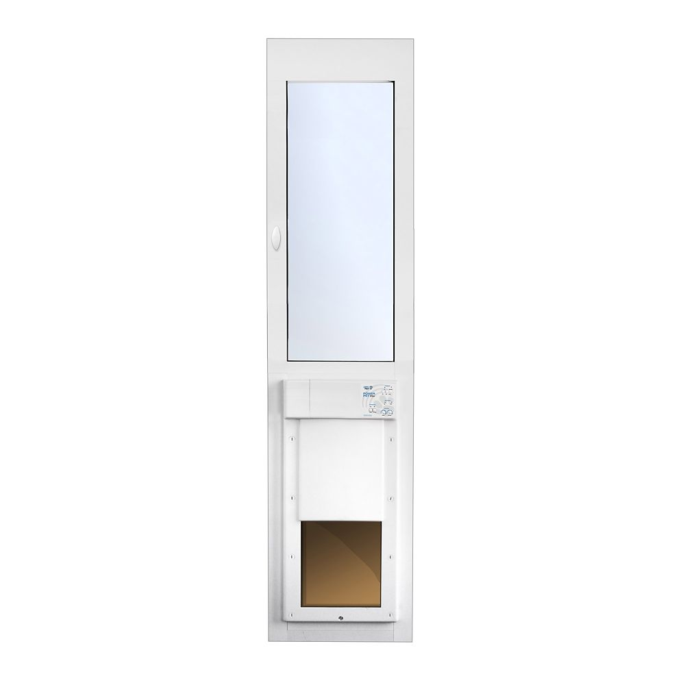 large power pet fully automatic sliding glass patio door regular height