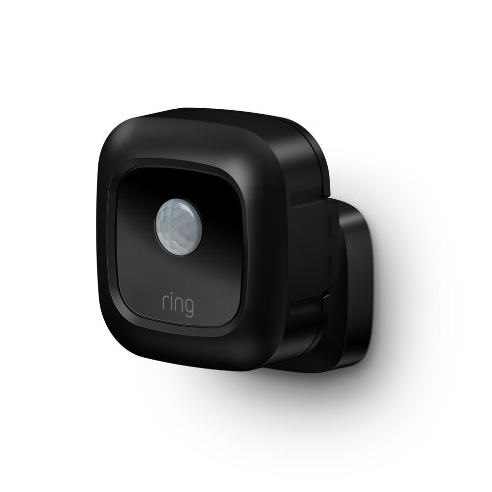 smart lighting motion sensor black