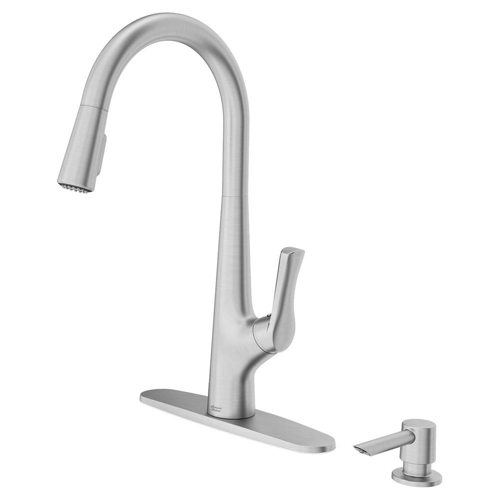 copley 1 handle pulldown kitchen faucet in stainless steel