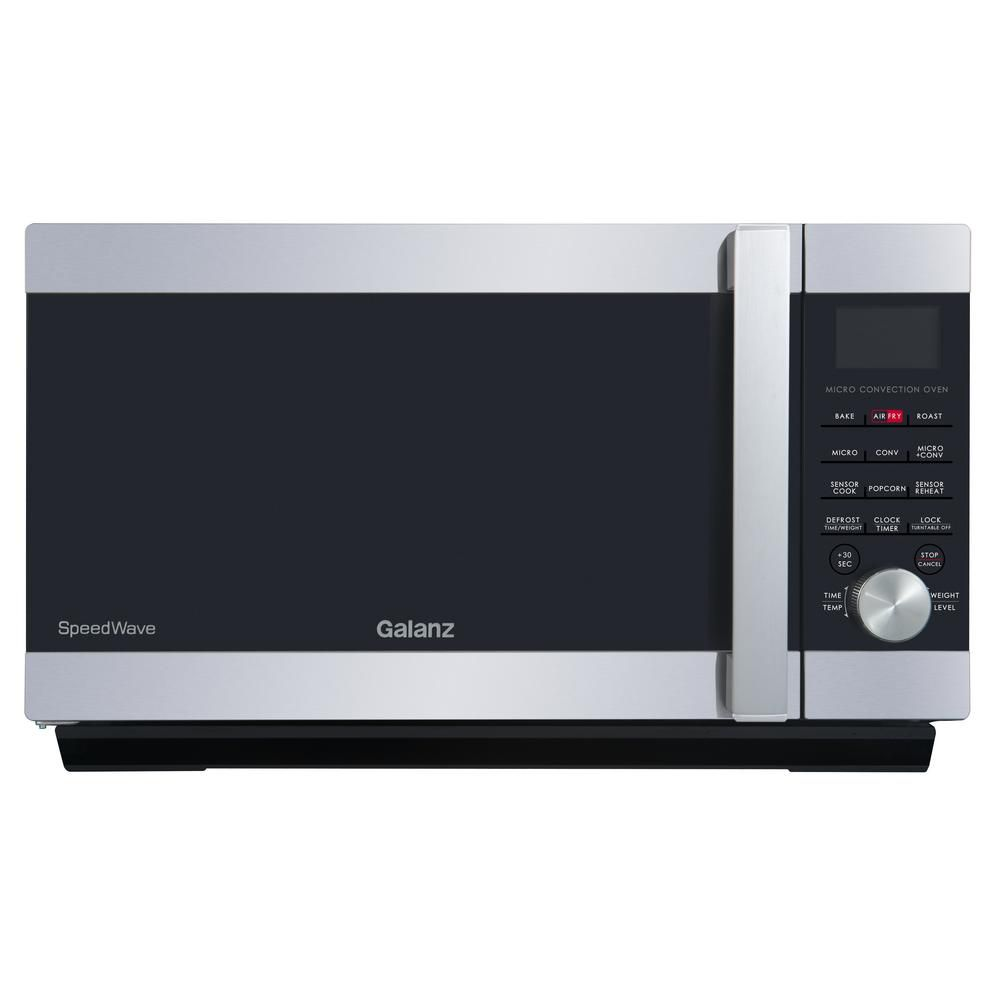 galanz 1 2 cu ft speedwave 3 in 1 convection oven microwave in stainless steel