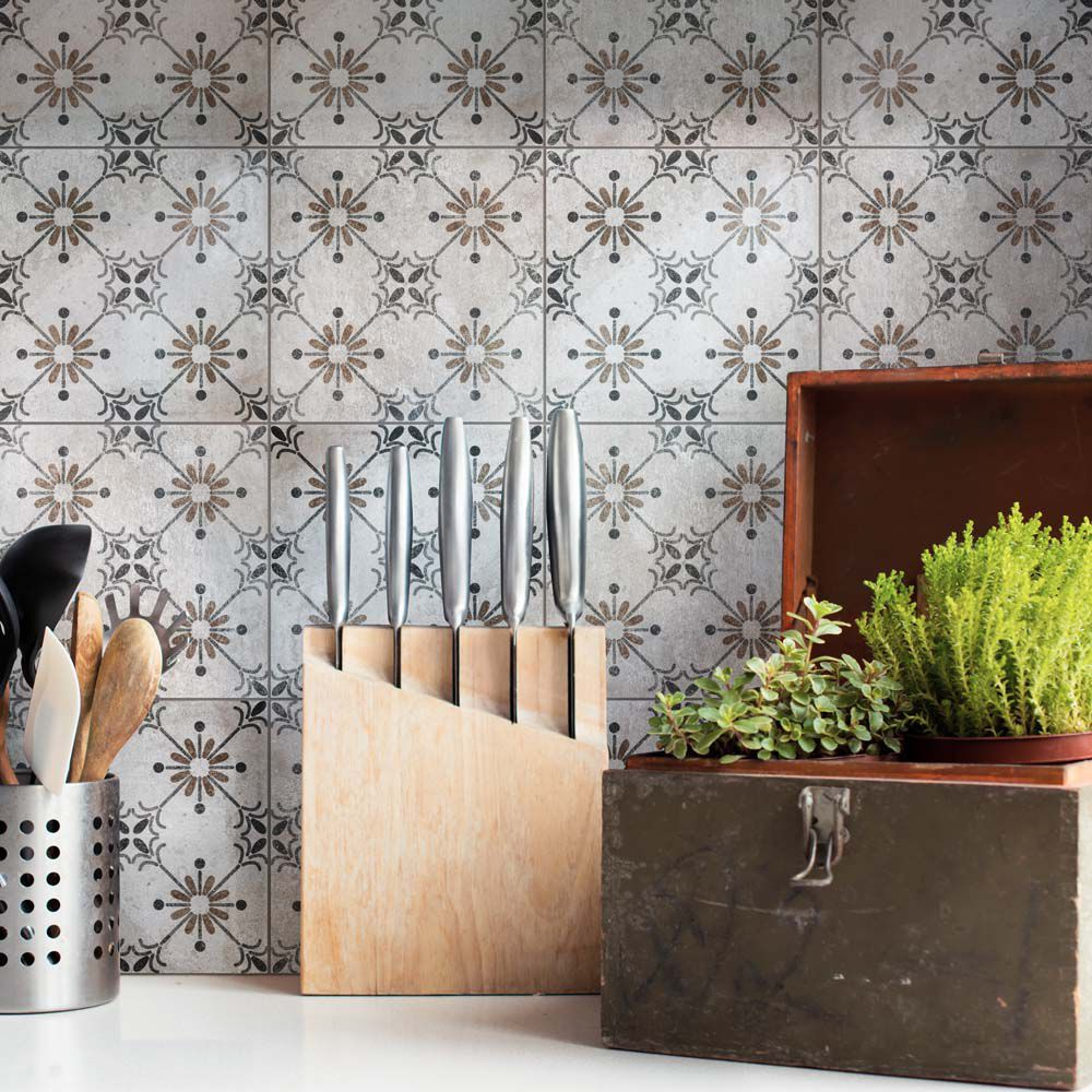 toledo beige 7 3 4 inch x 7 3 4 inch ceramic floor and wall tile 10 94 sq ft case