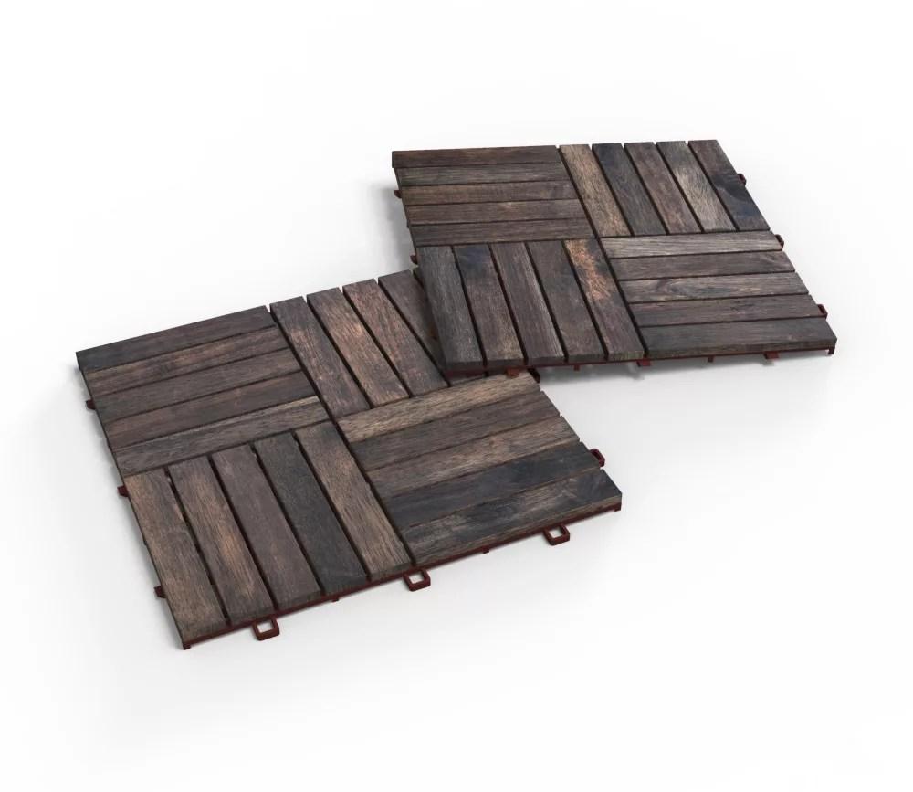acacia camp20 deck tiles 10 boxes 100 tiles 100 square feet espresso
