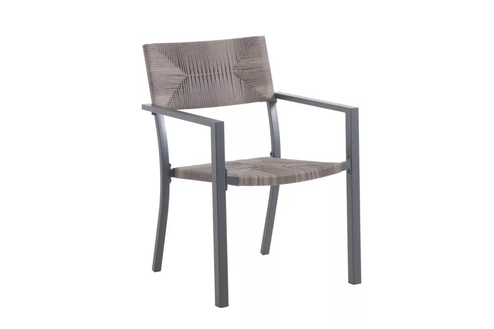 mix match all weather wicker stacking patio dining chair