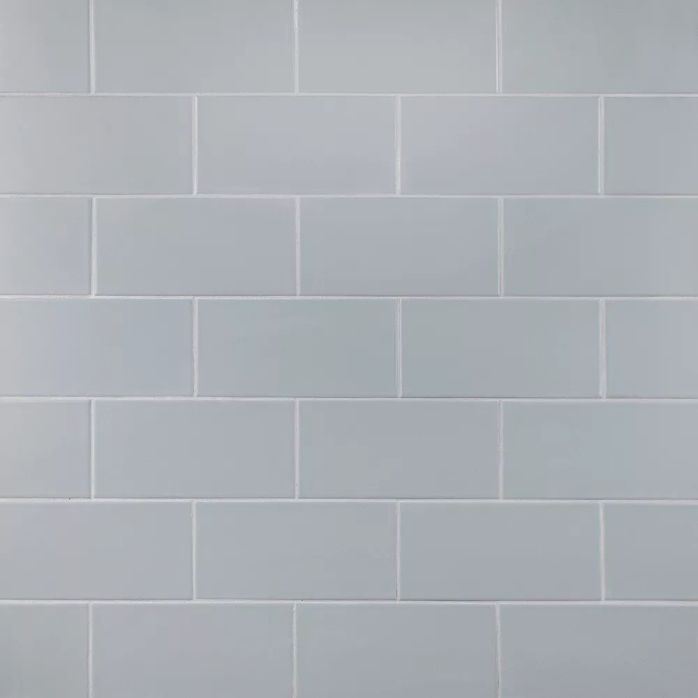 projectos 7 3 4 inch x 3 7 8 inch cinza matte ceramic subway floor and wall tile 11 46 sq ft case