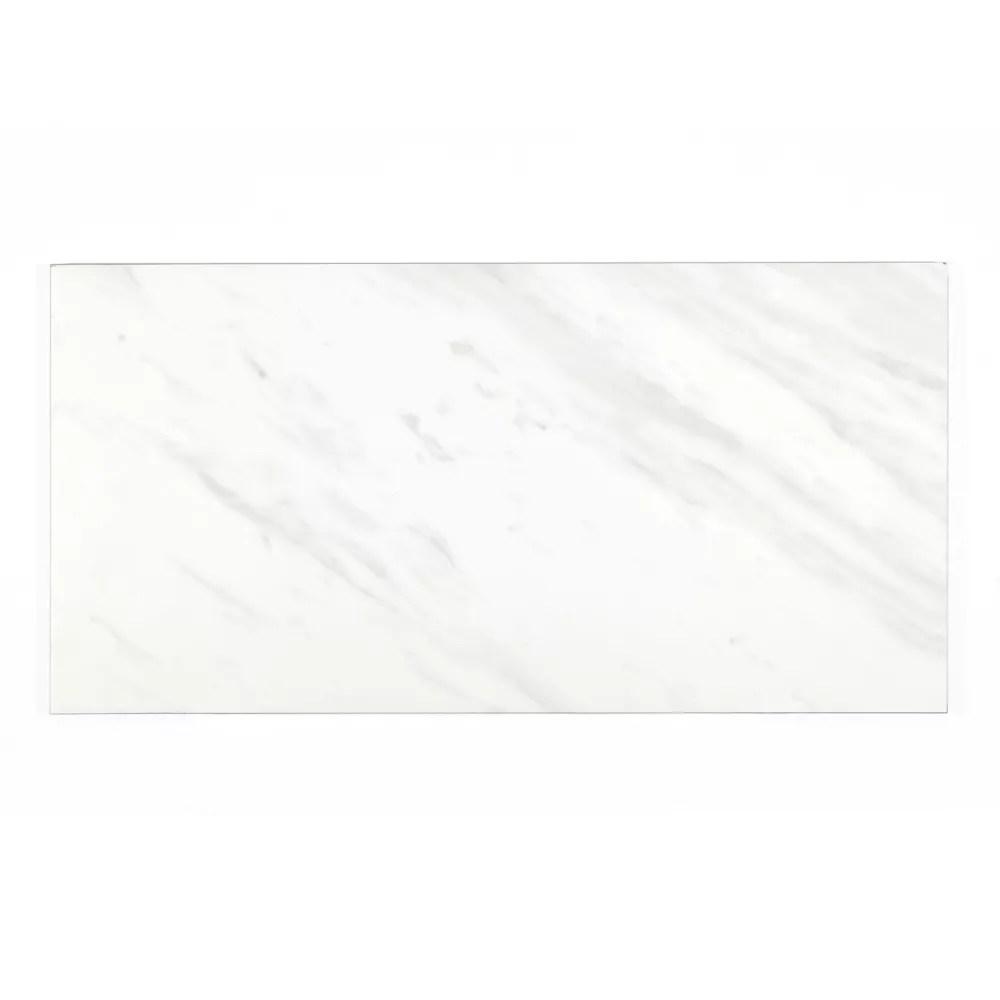 samar matte white 12 inch x 24 inch porcelain floor and wall tile