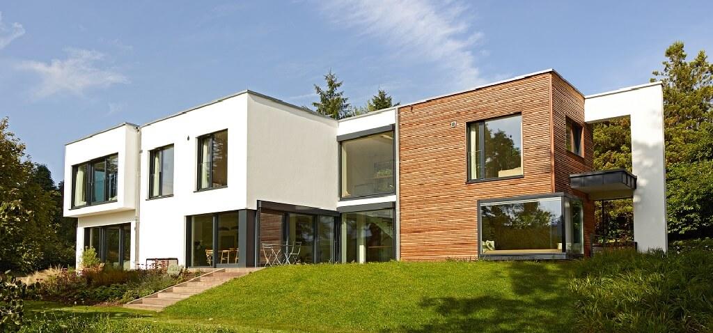 The single-family house Crichton convinces with a modern design