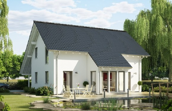 4 Bedrooms family house plan 10x11m