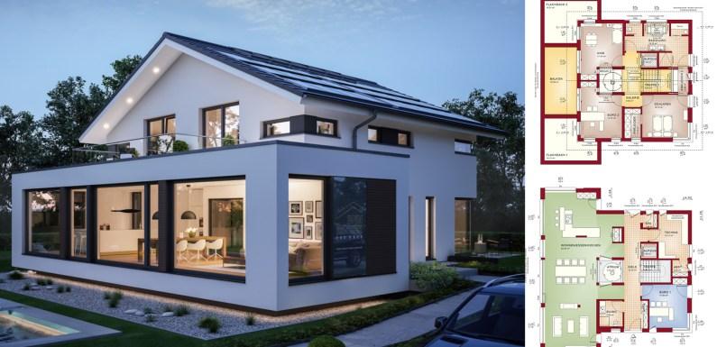 Modern Home Design Concept M 210 Home Ideas
