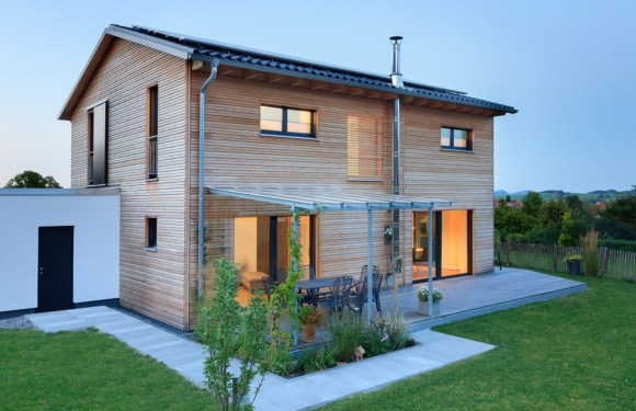"The ecological wooden house ""Schneider"""