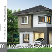 Small House Plan 6x6.25m with 3 bedrooms