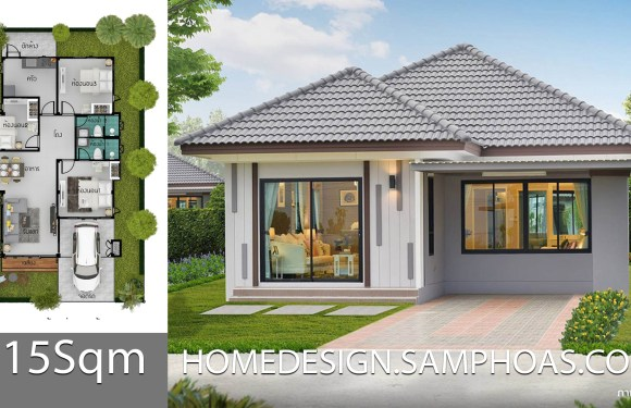 115 Sqm 3 Bedrooms Home design idea