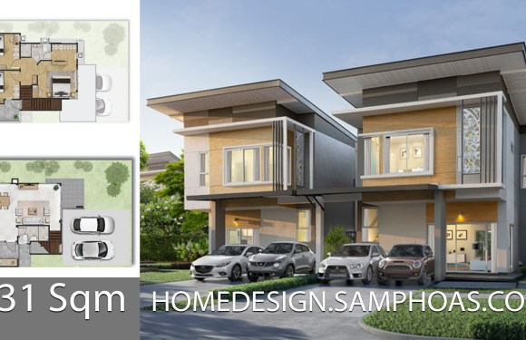 131 Sqm 3 Bedrooms Home design idea