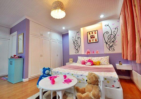 Pretty Child's Bedroom Design