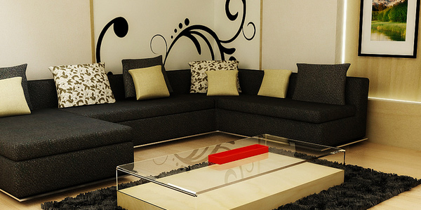 Stage your living area