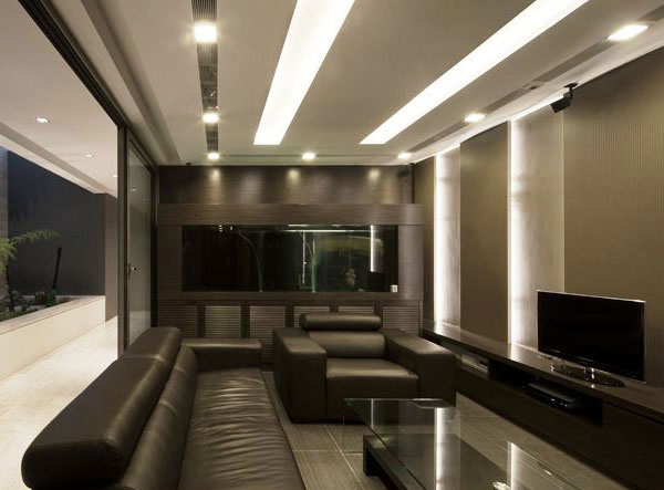 Contemporary Travertine Dream House In Serangoon
