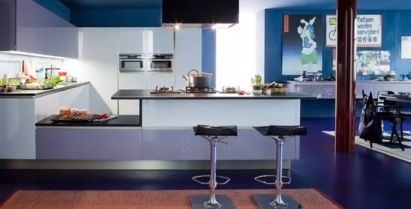 15 Amazingly Cool Blue Kitchen Ideas Home Design Lover