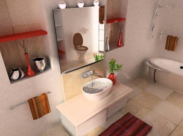 beige and cream bathroom design ideas