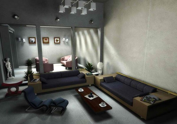 Two Piece Living Room Set