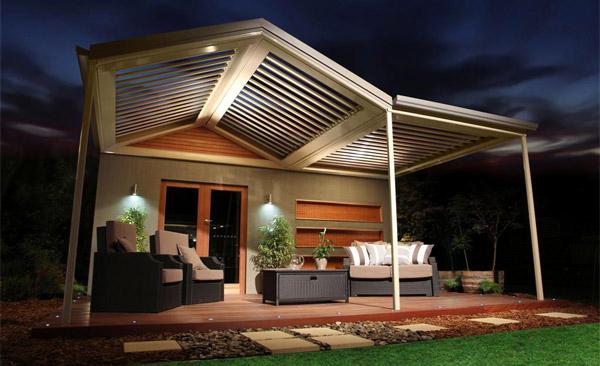 15 Designs Of Pergolas To Shade Seating Areas Home