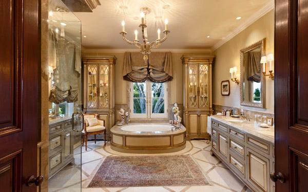 15 Ultimate Luxurious Romantic Bathroom Designs Home