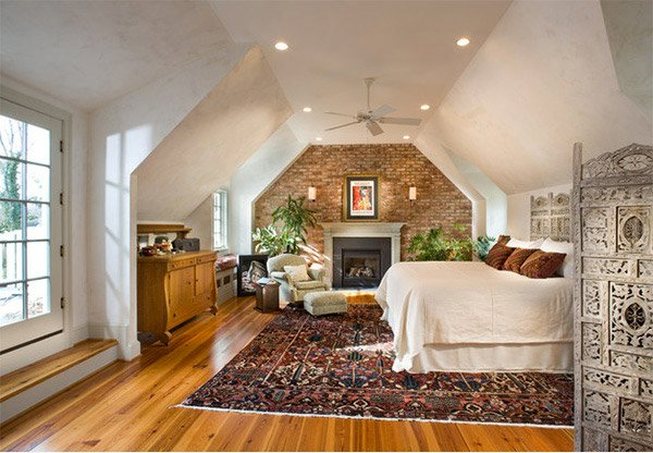 15 Bedrooms With Exposed Brick Walls Home Design Lover