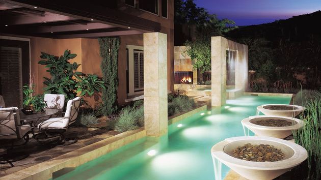 15 Pool Waterfalls Ideas for Your Outdoor Space | Home ...