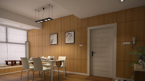 15 Delightful Dining Rooms With Wooden Wall Panels Home