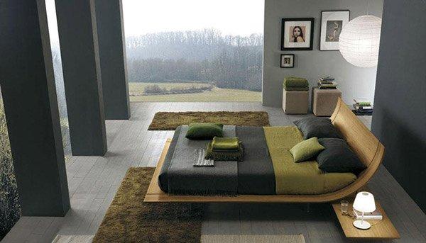 15 Stylistic Curved Platform Beds Home Design Lover