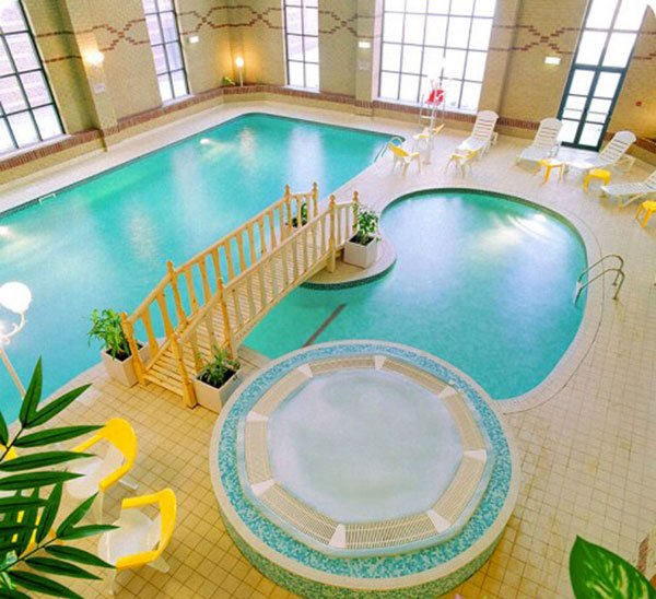 20 Amazing Indoor Swimming Pools Home Design Lover