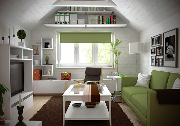 Small House Living Spaces