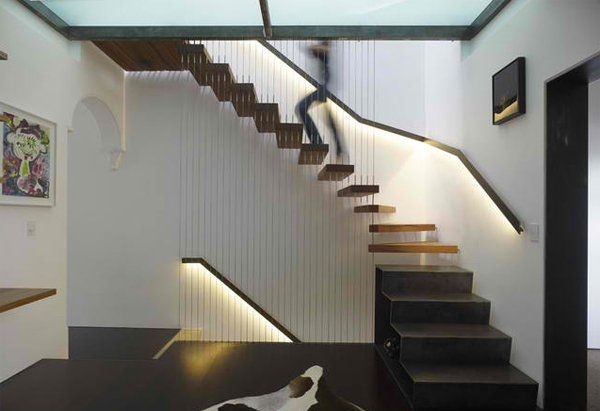 15 Residential Staircase Design Ideas Home Design Lover   Stairway Designs For Homes   Limited Space   Entryway   Duplex India House   Step Side Wall   Traditional