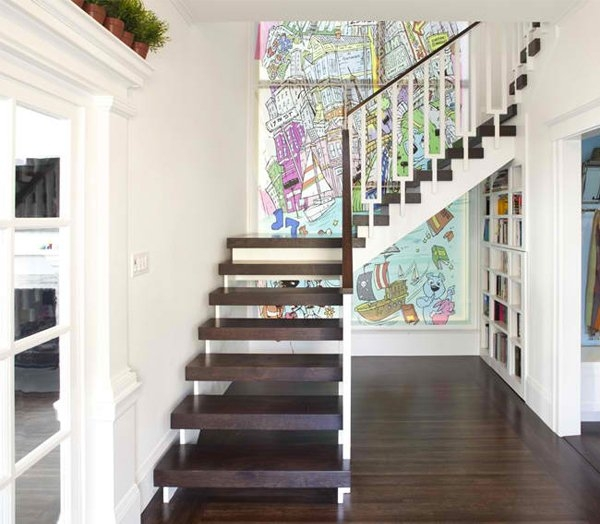 15 Residential Staircase Design Ideas Home Design Lover | Designer Stairs For Houses | Cool | Contemporary | Fancy | Residential | Interior