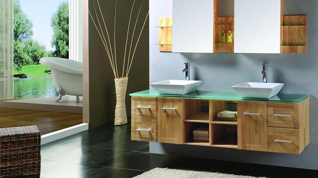 modern double sink bathroom vanity sets