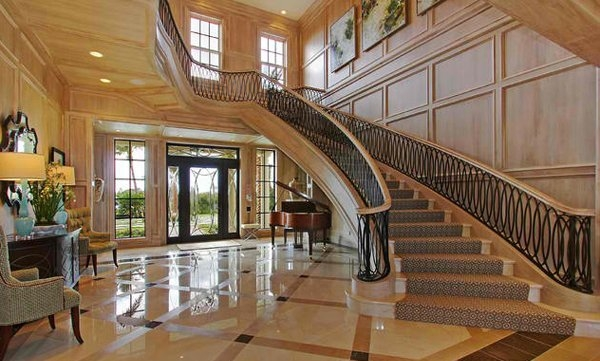 15 Concrete Interior Staircase Designs Home Design Lover   Stairs Design For Duplex House   Rcc   Residential   Exterior   Indian   Indoor