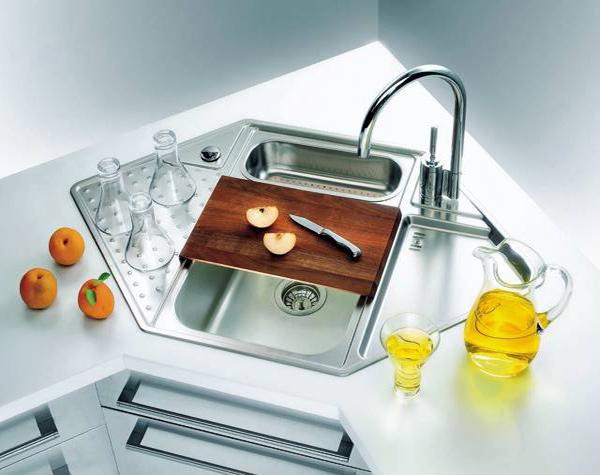 15 Cool Corner Kitchen Sink Designs Home Design Lover