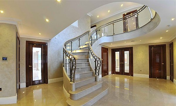 15 Concrete Interior Staircase Designs Home Design Lover   Stairs Design For Duplex House   Contemporary   Front   Elegant   Rcc   Staircase Design