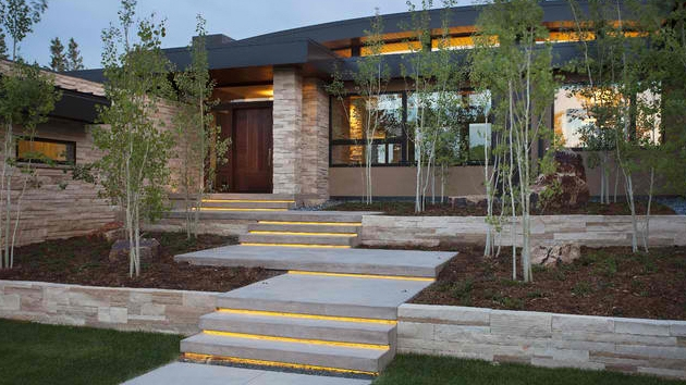 15 Concrete Exterior Staircase Design Home Design Lover | Outside Stairs Design For House