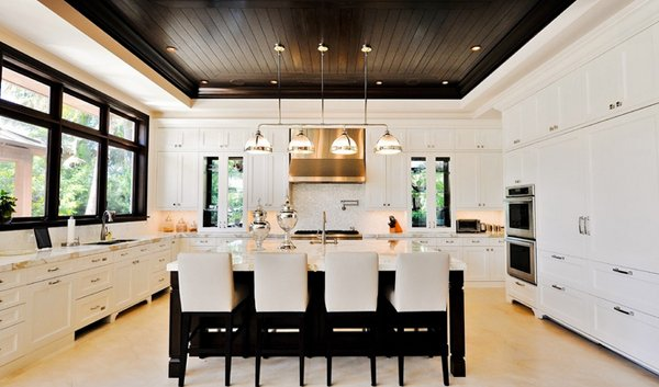 15 Pretty Kitchen Ceiling Lighting Home Design Lover