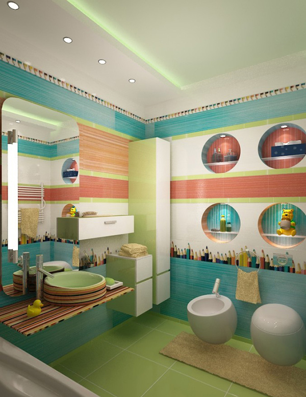 whimsical kid s bathroom