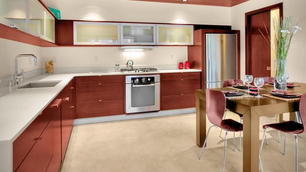 15 Beautiful L-Shaped Kitchens