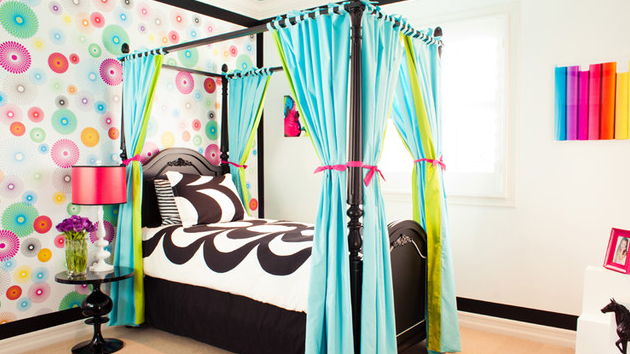 15 canopy beds in totally girly