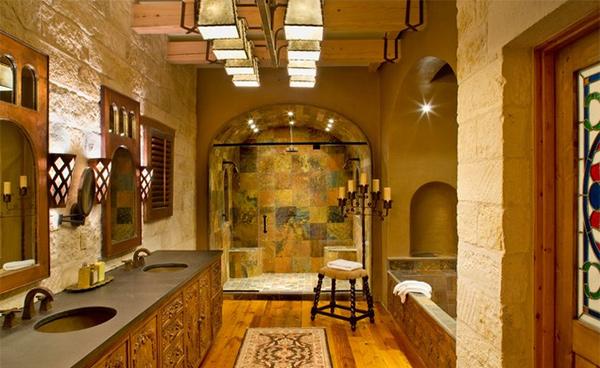 15 Beautiful Mediterranean Bathroom Designs Home Design