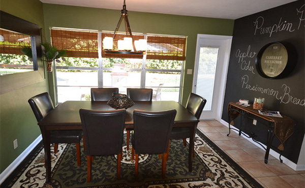 Chalkboard Accents In 15 Dining Room Spaces Home Design