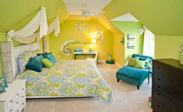 Green And Yellow Bedroom Ideas Novocom Top