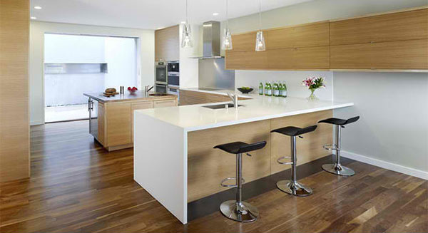 15 Astounding Peninsula Shaped Modern Kitchens Home