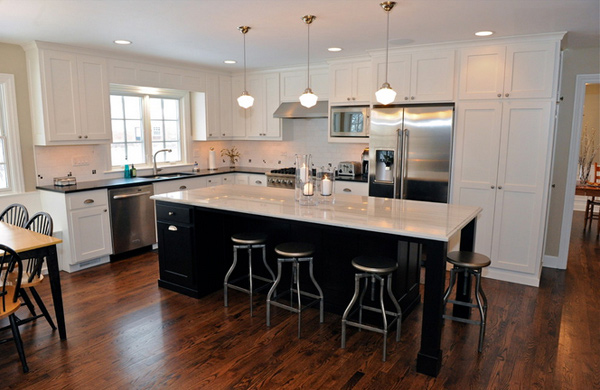 15 Astonishing Contemporary L Shaped Kitchen Layouts Home Design Lover